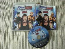PLAYSTATION 3 PS3 SMACK DOWN VS RAW 2008 PAL ESPAÑA PS3 USADO EN BUEN ESTADO