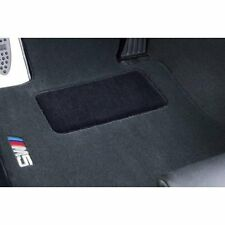 BMW M5 Design Black Carpet Floor Mats w/Heel Pad E39 M5 Sedan 82110009046