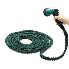 3X Stronger Deluxe 100 FT Expandable Flexible Garden Water Hose w/ Spray Nozzle