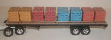 S scale pallet load of Quikrete sacks     1/64, farm toy, ertl, dcp, semi