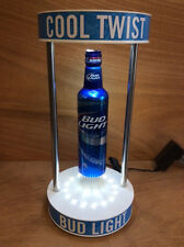 Bud Light Floating Levitating Spinning Magic Bottle with USB Charger - New & F/S