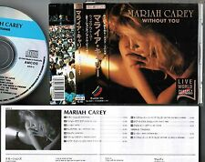 MARIAH CAREY Without You-Live World JAPAN/AUTRALIA CD w/OBI AKD-3 Free S&H