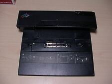 IBM Series A30 R40 R50 T30 T40 X30 Laptop Docking station P/N 40Y8142