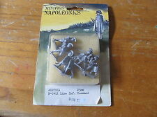 Napoleonics minifigs Austria Infantry Command N-1411 NEW IN PACKAGE