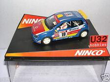 NINCO 50336 SLOT CAR FIAT PUNTO SUPER 1600  #19 VODAFONE J.P.FONTES-N.R.SILVA MB