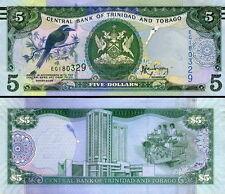 TRINIDAD & TOBAGO - 5 dollars 2015 FDS - UNC