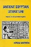 Ancient Egyptian Literature: Volume I: The Old and Middle Kingdoms (Near Easter
