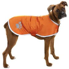 Zack  Zoey Nor'easter Dog Blanket Coat  Orange Large