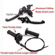 Brake Clutch Lever Throttle For Dirt Pit Bike Pitsterpro Thumpstar BSE Kayo YX