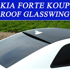 REAR ROOF GLASS WING SPOILER PAINTED FOR 2010-2013 KIA FORTE KOUP