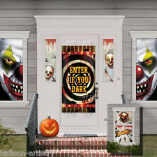 Halloween Horror CREEPY CARNIVAL Circus Clown Party Scene Setter Decorating Kit