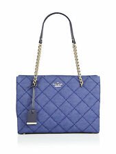 NWT Kate Spade New York Emerson Place Phoebe Quilted Denim Shoulder Bag Tote