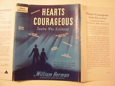 Hearts Courageous, William Herman, Dust Jacket Only