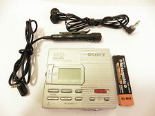 Sony Walkman MD MZ-R90 Personal MiniDisc Player Recorder MD Mini Disc WORKING