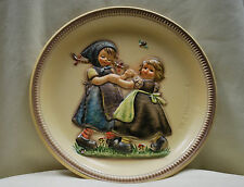 """Goebel Hummel #281 """"Spring Dance"""" 2nd Anniversary Plate 1980. Made in Germany."""