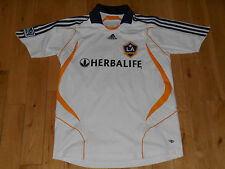 ADIDAS LA GALAXY DAVID BECKHAM SOCCER FUTEBOL MEN'S JERSEY SIZE XL MLS CLIMACOOL