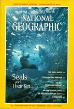 1987 National Geographic Magazine: Seals and their Kin/High Andes/Kayak Amazon