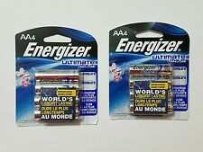8 Energizer Ultimate Lithium AA Batteries Exp 2036 Brand NEW Sealed & Fresh