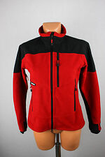 Haglofs Haglöfs Women's Breathable Gore Windstopper Fleece Jacket Red sz UK 10