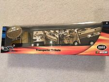HOT WHEELS RACING TRANSPORTER TRIBUTE CALE YARBOROUGH SEMI TRACTOR TRAILER NIB!!