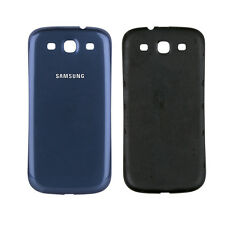 Samsung Galaxy S3 i9300 Backcover Battery Cover Akkudeckel Batterieabeckung Blau