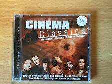 """""""CINEMA CLASSICS""""-GREATEST MOVIE SONGS-DYLAN-10cc-COSTELLO-PHIL COLLINS-NEW CD"""
