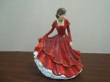 Royal Doulton Songs of Christmas Pretty Ladies Joy to the World  New in Box