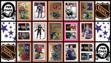 1986 O-Pee-Chee NHL Hockey Sticker Complete Set of 252 Patrick Roy Clark Rookie