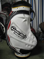 Taylormade Select Fit System Golf Staff Bag White/Black/Red Very Nice!!