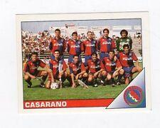 figurina CALCIATORI PANINI 1995/96 NUMERO 555 CASARANO SQUADRA