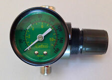HVLP Spay Gun Air Regulator/Pressure Gauge Air Adjusting Valve Regulator w/Gauge