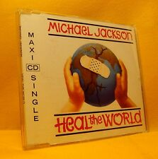 MAXI Single CD Michael Jackson Heal The World 4TR 1992 Pop Ballad