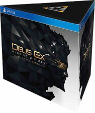 Deus Ex Mankind Divided Collectors Edition PS4 PlayStation 4 New Sealed Official