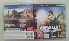 Sniper Elite III 3 Sony PS3