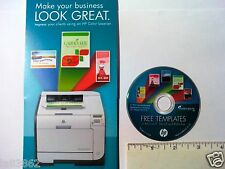 HP Make your Business LOOK GREAT Template CD - NEW!