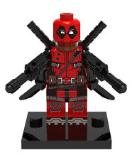 New Deadpool Marvel Super Hero Minifigure Building Toys Custom Lego