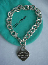 "TIFFANY & CO. ""RETURN TO TIFFANY & CO."" HEART TAG BRACELET!!!"