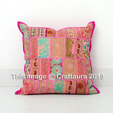 """Extra Large Pillowcase Patchwork Embroidery Pillow Cushion Cover Throw Decor 20"""""""