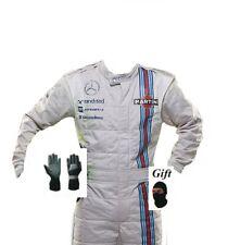Traje de carrera Martini Hobby Kart 2014 Estilo