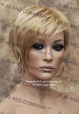 Chic and Sassy Jon Renau Short Pixie Wig Golden N Pale Blonde Mix FS613-24 JRNA