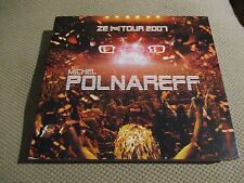"COFFRET 2 CD ""MICHEL POLNAREFF - ZE (RE) TOUR 2007"" concert"