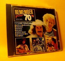CD Remember Your 70's / 1970 Compilation 20TR 1988 Funk, Pop Rock, Folk Country