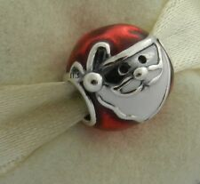 AUTHENTIC PANDORA JOLLY SANTA CHARM 791405ENMX