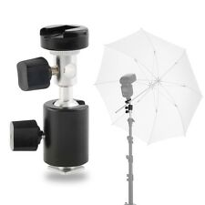 360¡ã Swivel Type C Flash Shoe Umbrella Holder Light Stand Bracket for Canon MW