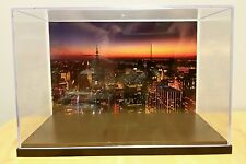 NEW YORK City Skyline action figure Display Stand Style Diorama Case-case only