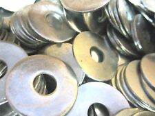3/8 x 1 1/2 FENDER WASHER ZINC PLATED 600 PIECES