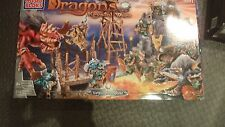 ✿ RARE MEGA BLOKS Dragons Krystal Wars Vorgan Keep 9891 Sealed New In Box 2003