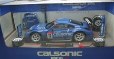 HOTWORKS RACING 2004 NISSAN Z33 CALSONIC WITH RACE KIT - 1/24