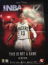 NBA 2K17 A2 Poster