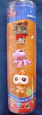 L4 Littlest Pet Shop tube Halloween sugar glider purple spider & cream owl